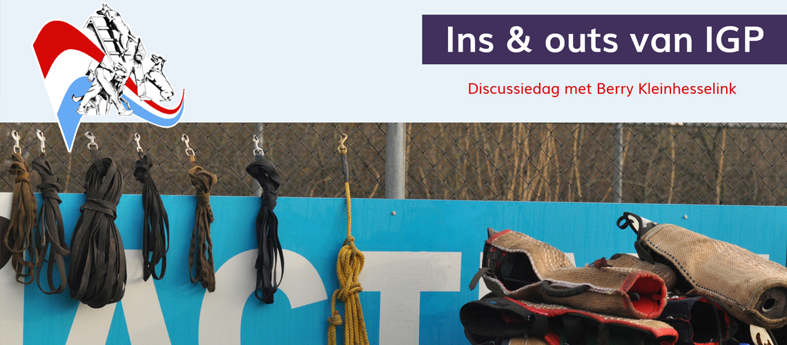 Discussiedag 'Ins & outs in IGP'